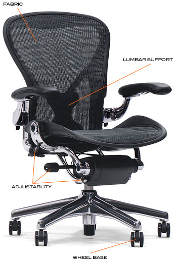Lumbar Support: An Office Chair Must Support The Lower Back. Look For Those  With An Adjustable Lumbar Support That Allows The User To Fit The Chair To  Their ...